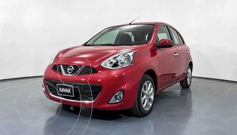 Nissan March Advance Aut usado (2016) color Rojo precio $177,999