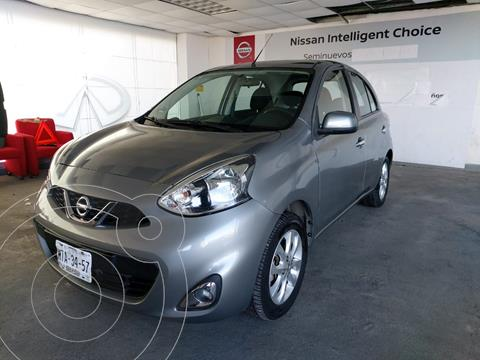 Nissan March Advance usado (2015) color Gris precio $155,000