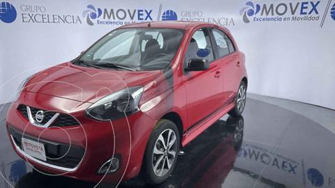 Nissan March SR  usado (2016) color Rojo precio $155,000