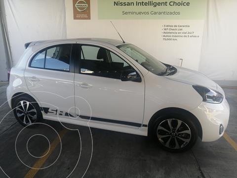 Nissan March SR NAVI usado (2020) color Blanco precio $285,000