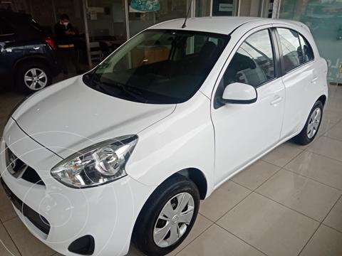 Nissan March Sense usado (2018) color Blanco precio $165,000