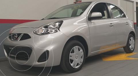 Nissan March Active usado (2015) color Plata Dorado precio $128,000