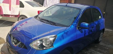 Nissan March Advance Aut usado (2018) color Azul Electrico precio $130,000