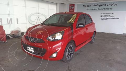 Nissan March SR NAVI usado (2020) color Rojo precio $245,000