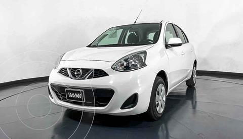 Nissan March Sense Aut usado (2018) color Blanco precio $167,999