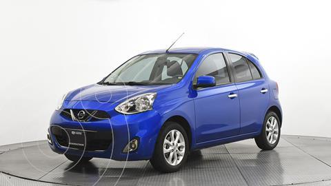 Nissan March Advance usado (2017) color Azul precio $148,000
