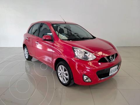 Nissan March Advance NAVI Aut usado (2018) color Rojo precio $185,000