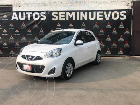 Nissan March Sense usado (2017) color Blanco precio $139,000