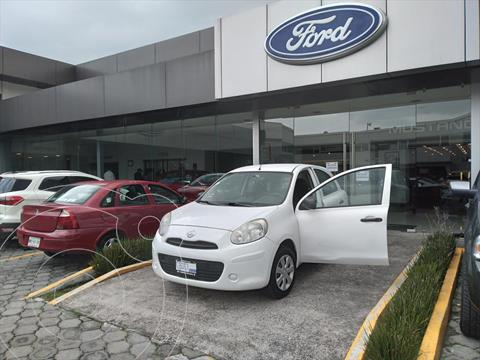 foto Nissan March Active usado (2015) color Blanco precio $100,000