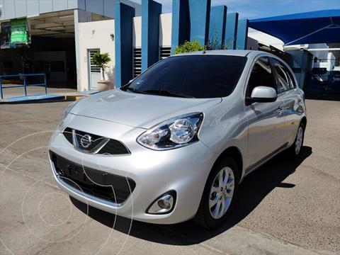 Nissan March Advance Aut usado (2014) color Plata precio $130,000