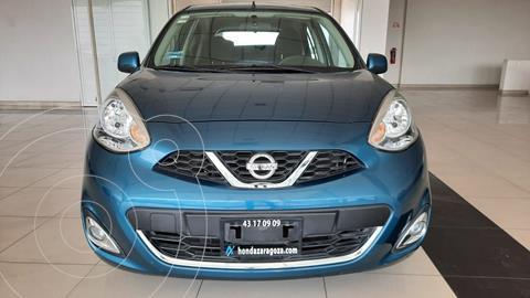 Nissan March Advance usado (2017) color Azul Acero precio $156,087