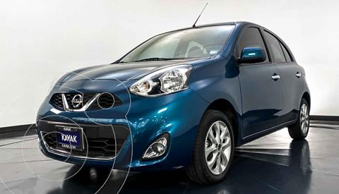 Nissan March Advance NAVI Aut usado (2017) color Azul precio $159,999