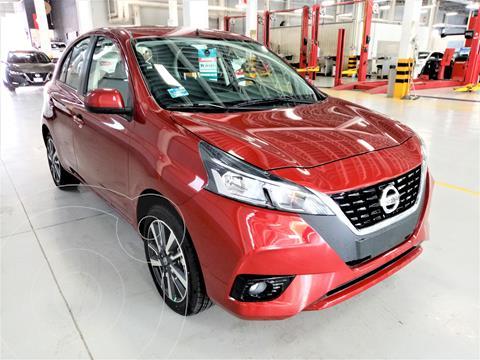 Nissan March Exclusive usado (2021) color Rojo precio $255,000