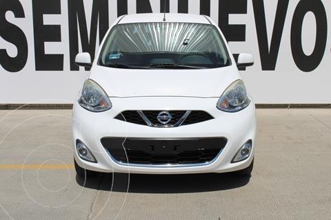 Nissan March Advance usado (2015) color Blanco precio $159,000
