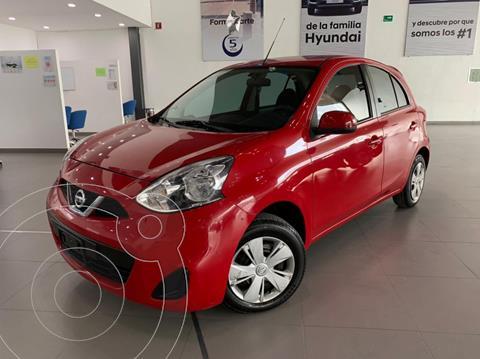 Nissan March Sense usado (2016) color Rojo precio $123,000