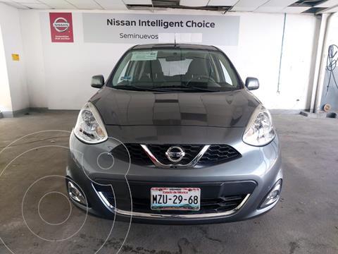 Nissan March Advance usado (2017) color Gris precio $155,000