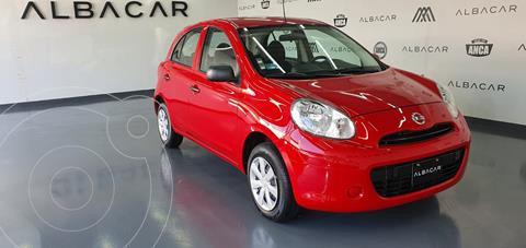 Nissan March Active ABS usado (2020) color Rojo precio $179,900