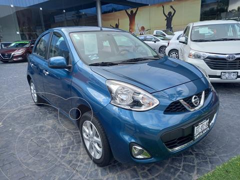 Nissan March Advance usado (2020) color Azul precio $249,000
