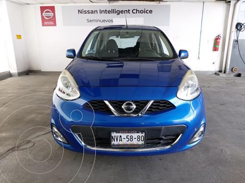 Nissan March Sense Aut usado (2014) color Azul precio $120,000