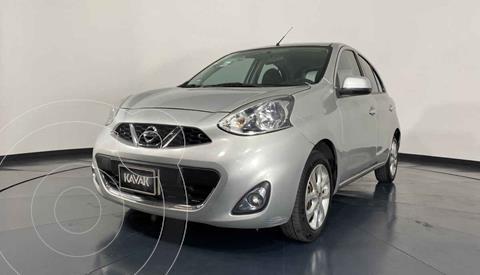 Nissan March Advance NAVI Aut usado (2014) color Plata precio $132,999