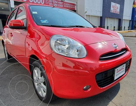 Nissan March Sense  usado (2013) color Rojo precio $120,000