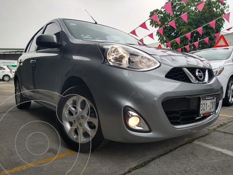 Nissan March Advance Aut usado (2015) color Gris precio $145,800