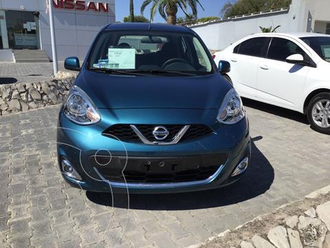 Nissan March Advance usado (2017) color Turquesa precio $160,000
