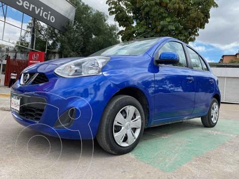 Nissan March Sense usado (2018) color Azul precio $160,000