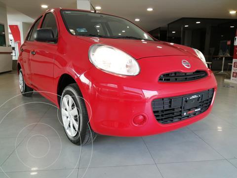 Nissan March Active Aire Ac usado (2020) color Rojo precio $165,800