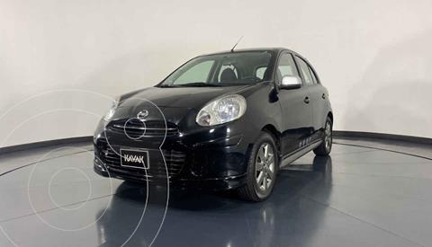Nissan March SR Aut usado (2012) color Negro precio $122,999