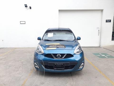 Nissan March Advance usado (2016) color Azul precio $153,000