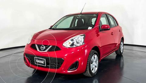 Nissan March Active usado (2014) color Rojo precio $122,999