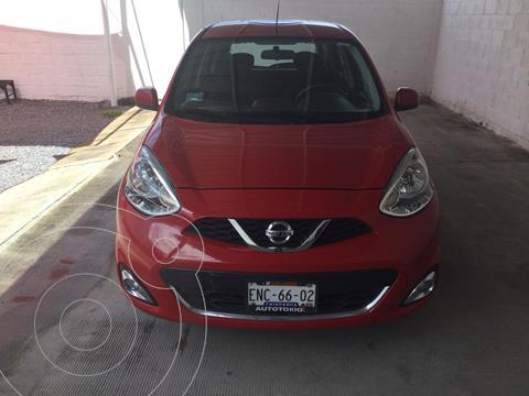 Nissan March Advance usado (2018) color Rojo precio $183,000