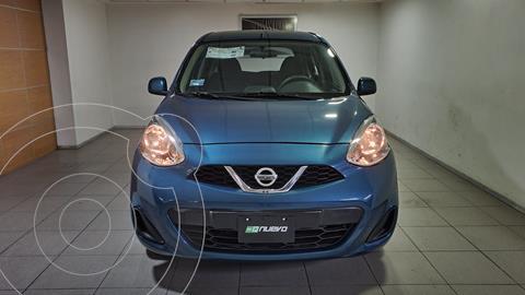 Nissan March Sense usado (2018) color Turquesa precio $165,000