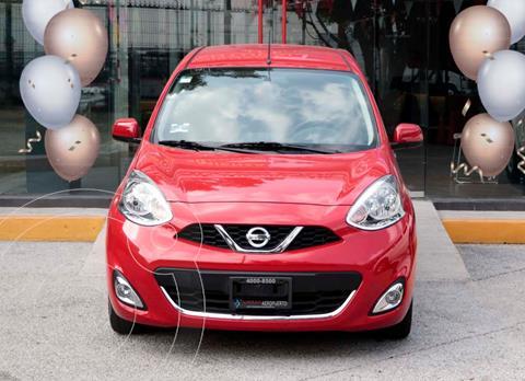 Nissan March Advance usado (2020) color Rojo precio $219,900