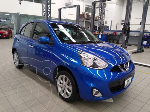 Nissan March Advance usado (2017) color Azul Acero precio $165,000