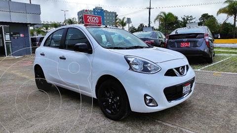 Nissan March Exclusive Aut usado (2020) color Blanco precio $245,000
