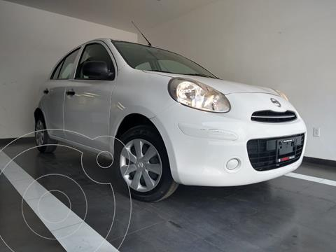 Nissan March Active Aire Ac usado (2015) color Blanco precio $105,800