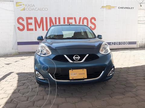 Nissan March Advance usado (2017) color Azul precio $160,000