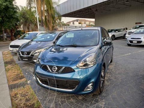 Nissan March SR NAVI usado (2020) color Azul precio $258,000