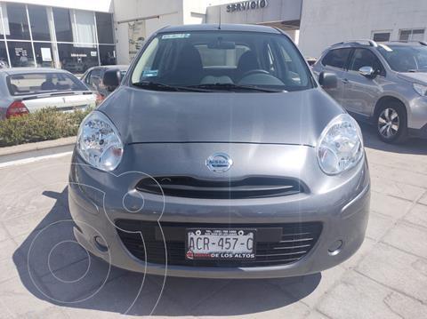 Nissan March Active usado (2020) color Gris precio $165,000