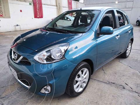 Nissan March Advance Aut usado (2014) color Azul precio $129,000
