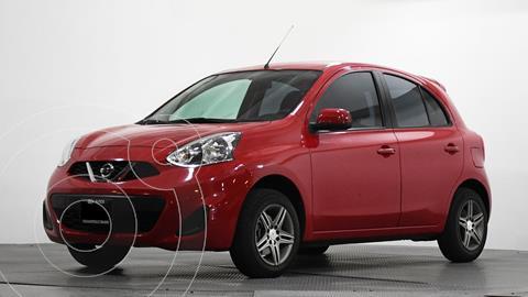 Nissan March Sense usado (2016) color Rojo precio $121,285