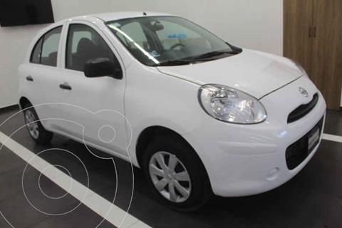 Nissan March Active Aire Ac usado (2020) color Blanco precio $175,000