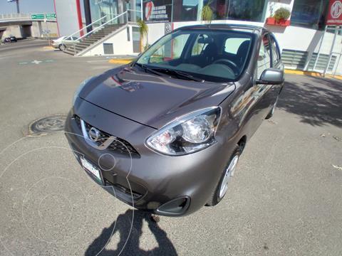 Nissan March Sense usado (2020) color Gris Oxford precio $205,000