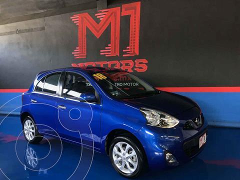 Nissan March Advance Aut usado (2018) color Azul precio $159,900