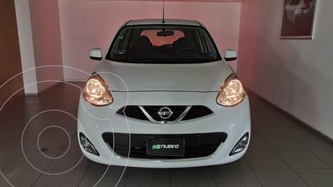 Nissan March Advance Aut usado (2014) color Blanco precio $135,000