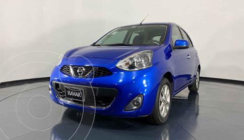 Nissan March Advance Aut usado (2016) color Azul precio $154,999