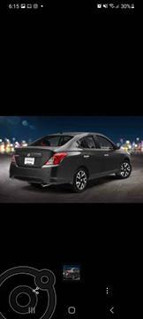 Nissan March 5 PTS HB SR, TM5, A/AC AUT, VE, CD, GPS, FALDON,  usado (2018) color Beige precio $120,000