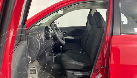 Nissan March Advance Aut usado (2018) color Rojo precio $179,999